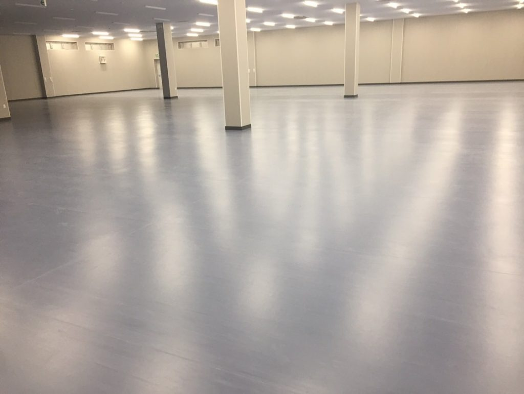 コンクリート床の仕上がり例