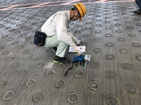 コンクリート補修は第三者機関の試験を