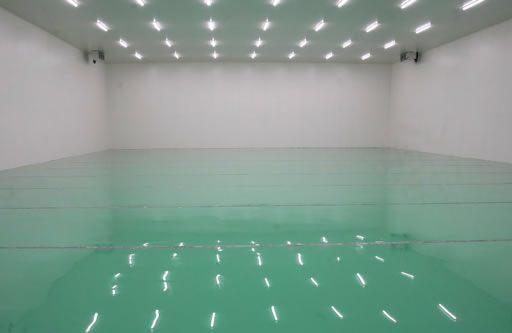 塗り床工事の例